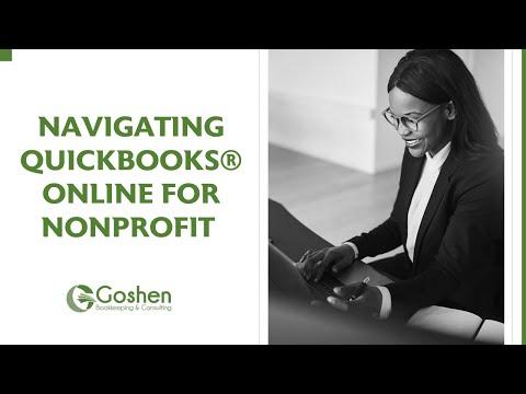 Navigating QuickBooks Online for Nonprofit