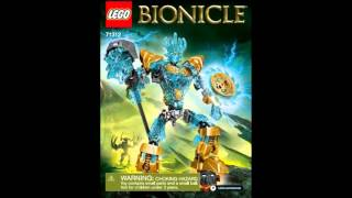 LEGO BIONICLE 2016 Summer Sets