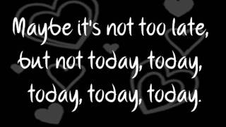 Avril Lavigne - Tomorrow (Lyrics)
