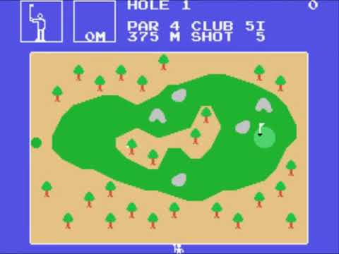 Champion Golf (Japan) Sega - SG-1000 INGAME