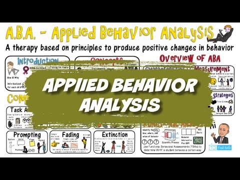Applied Behavior Analysis: ABA