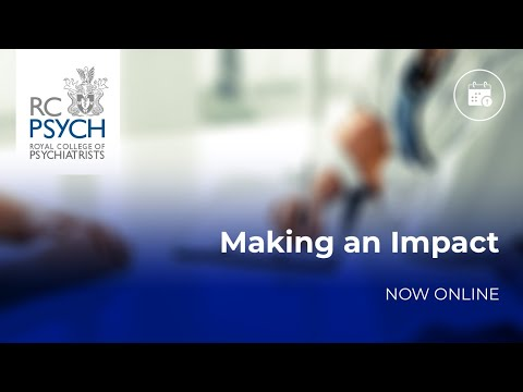 RCPsych in Wales and Scotland webinar – Making an impact