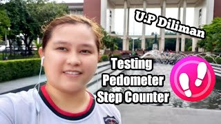 How to use Step Counter - Pedometer Free & Calorie Counter | Testing for Android