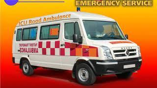 Use Best and Amazing ICU Road Ambulance Service in Gandhi Maidan and Kurji