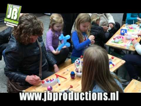 Video van Kids Workshop Paasei Schilderen | Attractiepret.nl