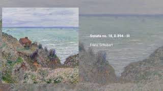 Piano Sonata no. 18 in G, D.894