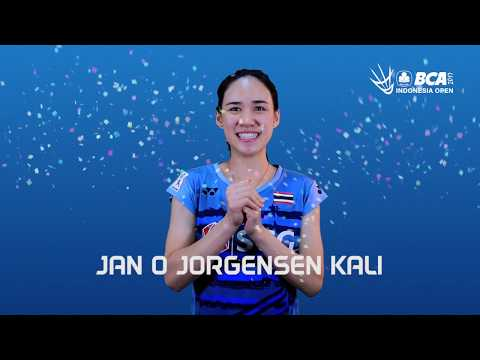 Nitchaon Jindapol - Trivia At BCA Indonesia Open 2017