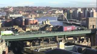 preview picture of video 'Castle Keep, Newcastle-Upon-Tyne, UK - 29th November 2012'