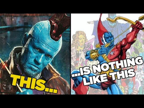 10 MCU Characters That Are Nothing Like The Comics