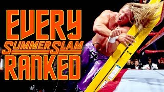 Every SummerSlam Ranked From WORST To BEST