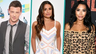 Lea Michele Pays Tribute To Naya Rivera & Cory Monteith