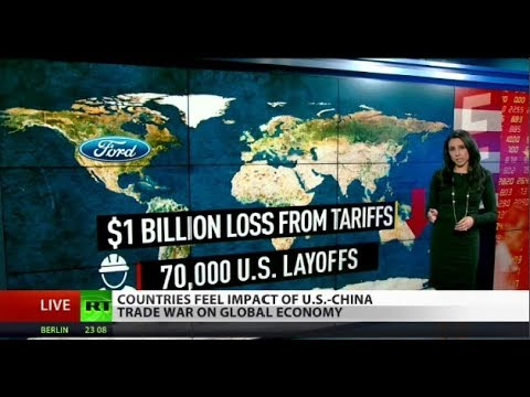 Download US-China Trade War Expected to Damage Global Markets HD Mp4 3GP Video and MP3