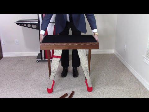 Table Legs (Comedy Legs Table) (#2) by Woodmagic Studio (2)