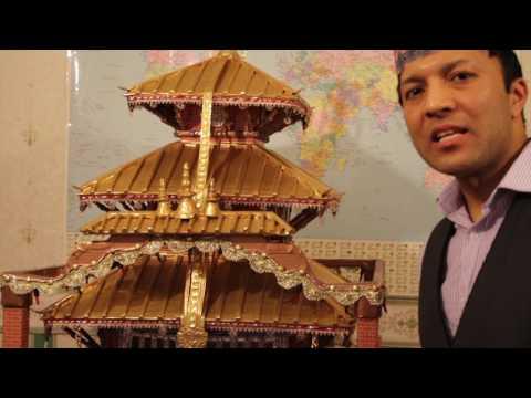 पर्वतका सागर,जस्ले बनाए बेलाएतमा, अचम्मको मन्दिर:घण्टी बजाउँदा आँफै खुल्ने [भिडियो]