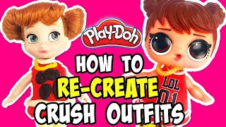 LOL Surprise Dolls Matching Outfits with Anna! Fashion Crush, Lil Sisters Unboxing! | Princess World