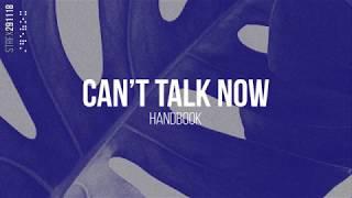 """Handbook - """"Can't Talk Now"""" 🎧 [instrumental hip hop / beats]"""