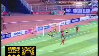 Malaysia Vs Myanmar (1-0) SEA Games 2011 Highlight