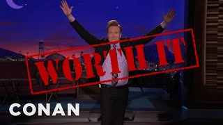 Conan Jokes About Trump