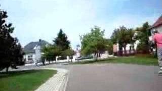 preview picture of video 'Pohled rychlobruslaře 2. - Dráha Na Korunce'