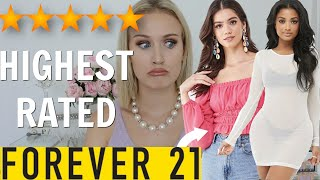 I BOUGHT THE HIGHEST RATED ITEMS ON FOREVER 21