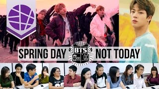 Filipinos React to Kpop #9 (BTS - Spring Day & Not Today) | EL's Planet