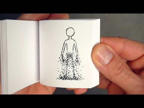 How to Create a Disintegrating Flipbook