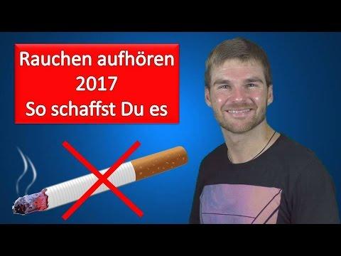 Rauchen aufgebend der Folge