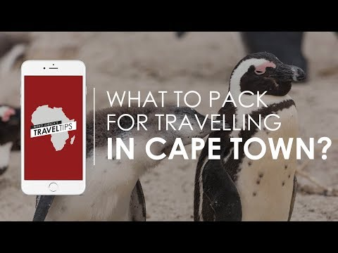 What to pack for travelling in Cape Town? Rhino Africa's Travel Tips
