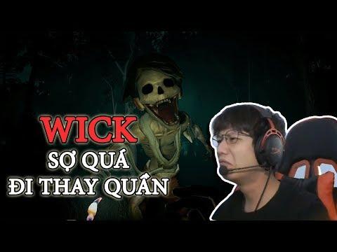 Wick game kinh dị bật nhất thế giới | Quạ HD đi chơi game
