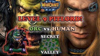 Grubby | Warcraft 3 The Frozen Throne | Orc v HU - Level 9 Pitlord! - Secret Valley