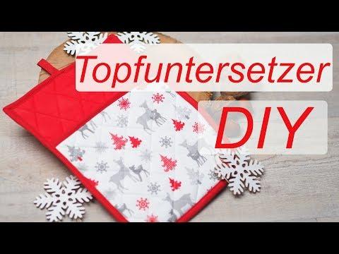 DIY Topfuntersetzer nähen-Annas Adventskalender im November - Türchen 22
