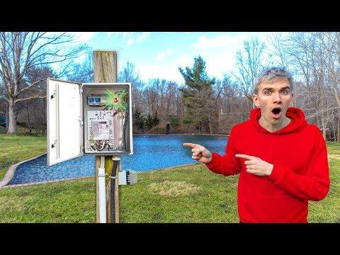 Game Master Power Box Found in Backyard Pond with Spy Gadget Radio Transmitter Device Inside!! (видео)