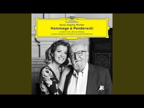 Penderecki: Metamorphosen, Konzert für Violine und Orchester Nr. 2 - 6. Andante con moto