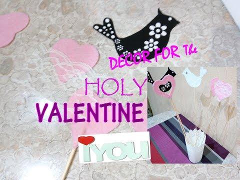 ДЕКОР ДЛЯ КАБИНЕТА/ЧЕМ УКРАСИТЬ ДОМ НА ДЕНЬ ВЛЮБЛЕННЫХ/ decor for Valentine's Day