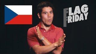 Flag Friday! CZECH REPUBLIC! (CZECHIA)