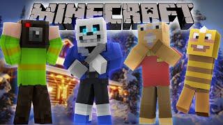 """Minecraft Undertale MURDER - """"SNOWDIN KILLER"""" - (Minecraft Undertale Minigame)"""