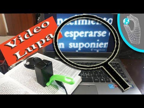 Video Lupa TPA – Sistema de lectura de textos impresos para personas con baja visión