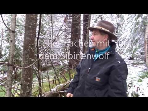 Überleben in der Wildnis !Tipps zum Feuermachen vom Sibirienwolf