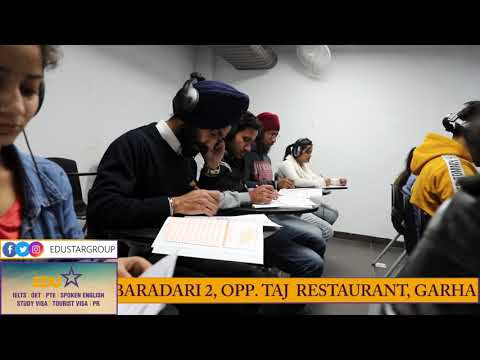 BEST | IELTS | PTE | SPOKEN ENGLISH | STUDY VISA | INSTITUTE | JALANDHAR | VOICE OVER AD