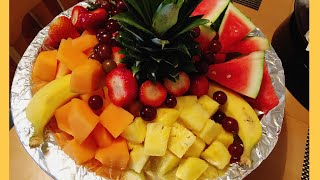 Simple Fruit Tray For Any Occasion !!!!