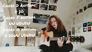 Love Has All Been Done Before   Jade Bird (Acoustic Guitar Cover + Rhythms + Chords) [The Unknowner]