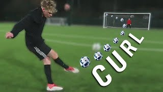 EASIEST WAY TO IMPROVE CURVE ON THE BALL!