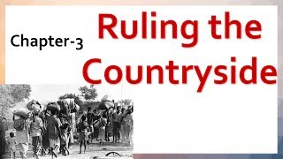 CBSE NCERT Class 8 History Chapter 3 Ruling the Countryside explaination in Hindi