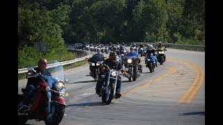 The annual Brandy Winfield poker run