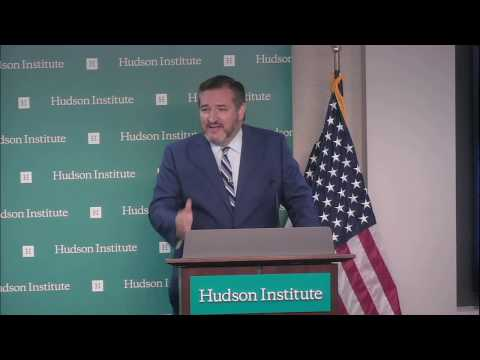 Sen. Cruz Delivers Foreign Policy Address at Hudson Institute