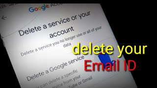 how to delete email account | email id kaise delete kare |