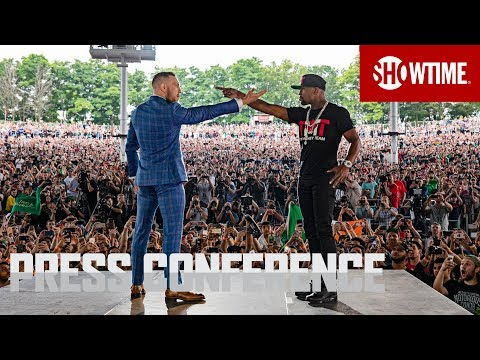 Mayweather Vs McGregor: Re-Watch The Second Press Conference Here