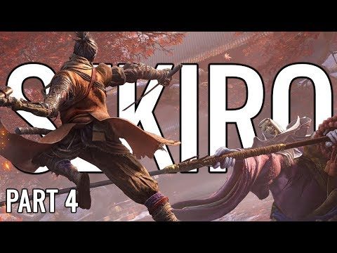 Sekiro: Shadows Die Twice Let's Play Playthrough   THAT'S A BIG SNAKE - Part 4