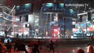 Waldo's People's first rehearsal (impression) at the 2009 Eurovision Song Contest