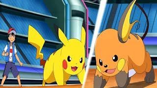 Raichu  - (Pokémon) - Pikachu Vs Raichu!!! Comienza el Campeonato Mundial Pokemon!!!